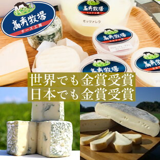 【ふるさと納税】 チーズ 詰め合わせ 高秀牧場 送料無料 世界最高賞 金賞 銀賞 ブルーチーズ フロマージュ・ブラン モッツァレラ ウォッシュタイプチーズの画像