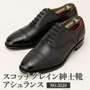 【ふるさと納税】スコッチグレイン紳士靴「アシュランス」NO.3520 【ファッション・靴・シューズ】