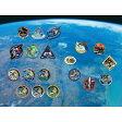 【ふるさと納税】人工衛星&日本人宇宙飛行士記念ピンバッヂ19点セット