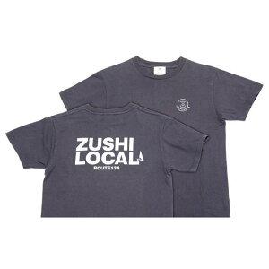 【ふるさと納税】逗子オリジナルTシャツ (ZUSHI LOCAL) デニムカラー 【服・男性・メンズ・ファッション・女性・レディース】
