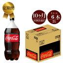 【ふるさと納税】定期便 10カ月 コカ・コーラゼロ 2L×6