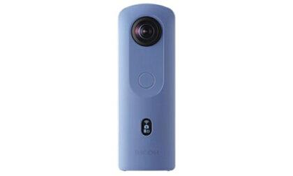 リコー 360度 カメラ THETA SC2 ブルー【 神奈川県 海老名市 】