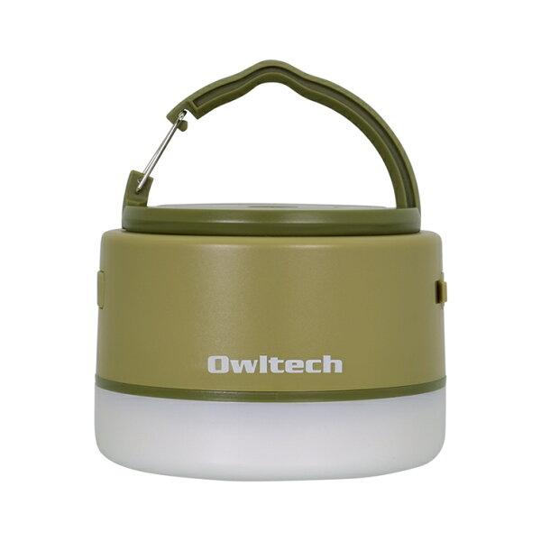 ふるさと納税 大容量モバイルバッテリー搭載LEDキャンピングランタン6700mAhUSBType-A×1ポート出力OWL-LP