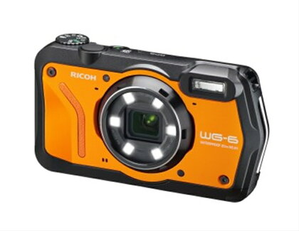 デジタルカメラ WG-6 オレンジ【 神奈川県 海老名市 】