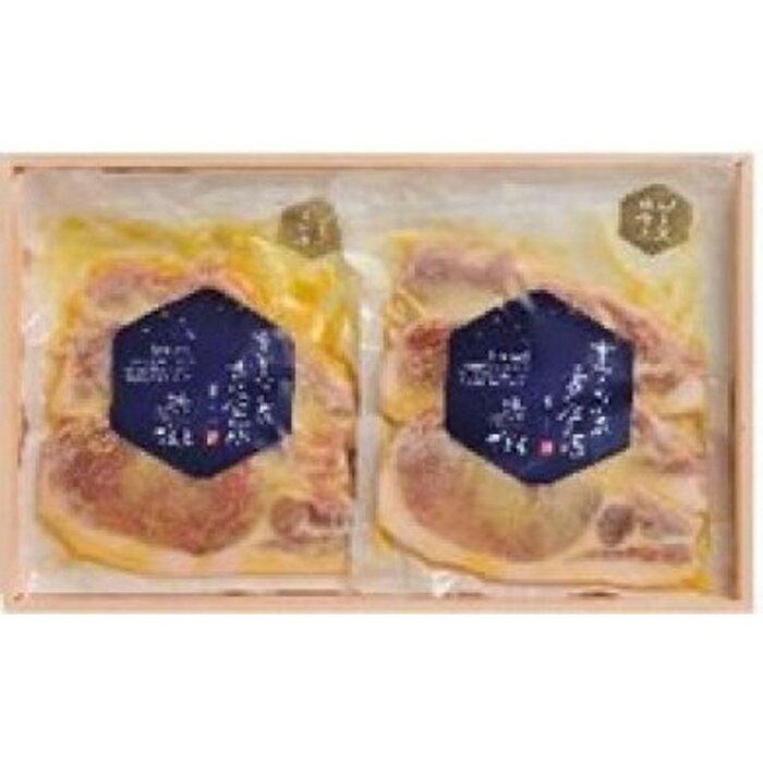 雪室熟成黄金豚ロース味噌漬け(3枚入り×2)