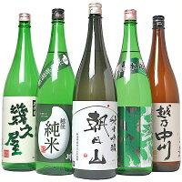 【ふるさと納税】C1-11越後銘門酒会日本酒福袋(1800ml×5本)
