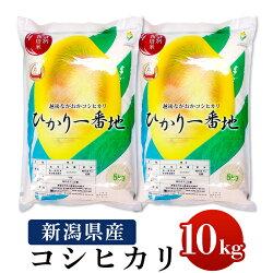 【ふるさと納税】75-2N101新潟県長岡産特別栽培米コシヒカリ10kg(5kg×2)
