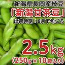 【ふるさと納税】Z8-013新潟県長岡産枝豆2.5kg【新潟...