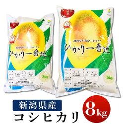 【ふるさと納税】75-2N081新潟県長岡産コシヒカリ8kg(特別栽培米)