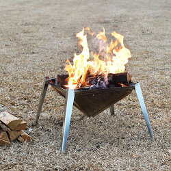 【ふるさと納税】【074P002】[UCCHI'S] キャンプ用品 組立式焚き火台(焚火台) グリルセット 画像1