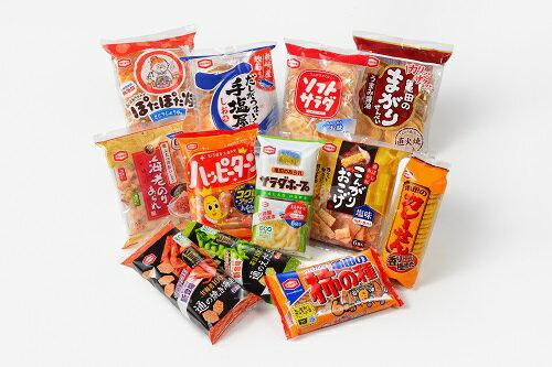 ふるさと納税 亀田製菓米菓詰合せセット