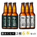 【ふるさと納税】ビール A06-1吟籠クラフトビール6本飲み比べセット(2種各3本)