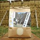 【ふるさと納税】<令和元年米>越後奥阿賀産はざかけ(天日干し)コシヒカリ5kg