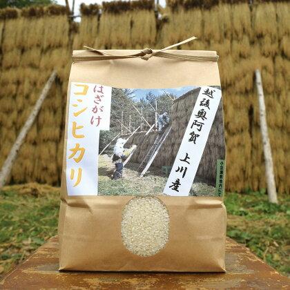 <令和元年米>越後奥阿賀産はざかけ(天日干し)コシヒカリ 5kg