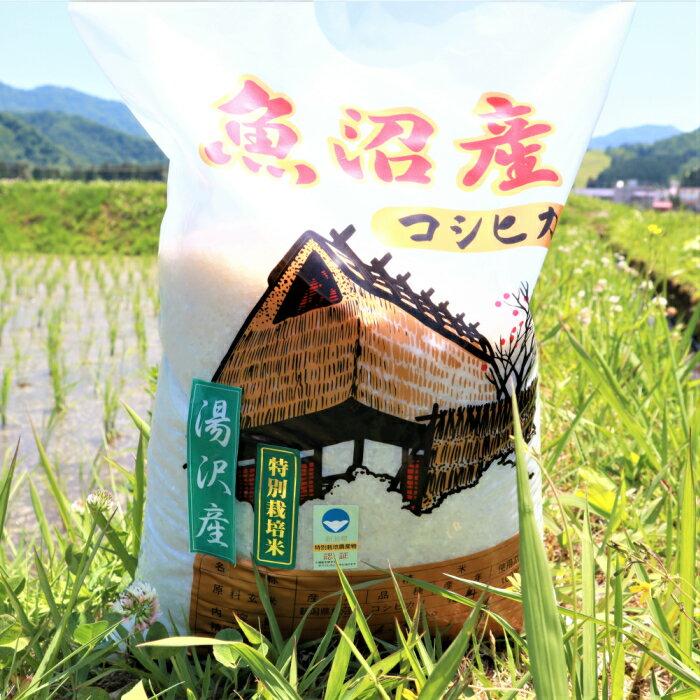 魚沼産コシヒカリ最上流域[湯沢産コシヒカリ] 新潟県特別栽培米認定!味とツヤにこだわった「秀田米」精米2kg