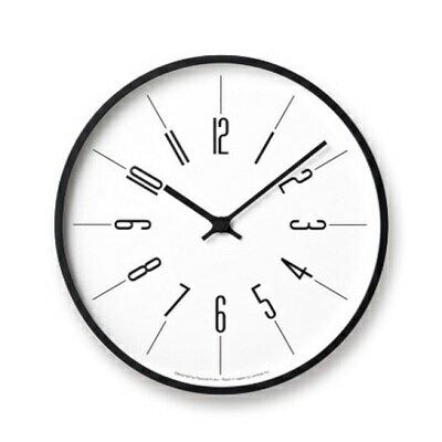 【ふるさと納税】時計台の時計[電波時計]/Arabic(KK17-13A) Lemnos レムノス 時計 【インテリア・民芸品・工芸品・伝統技術】 お届け:※申込状況によりお届け迄1〜2ヶ月程度かかる場合があります。