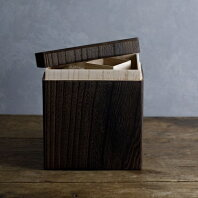 【ふるさと納税】RICE STOCKER(ライスストッカー)焼桐 5kg用 総国産桐使用 天然蜜蝋仕上げ SDGs製品 【工芸品・民芸品・伝統技術・インテリア・桐・米びつ・米櫃・ライスストッカー】