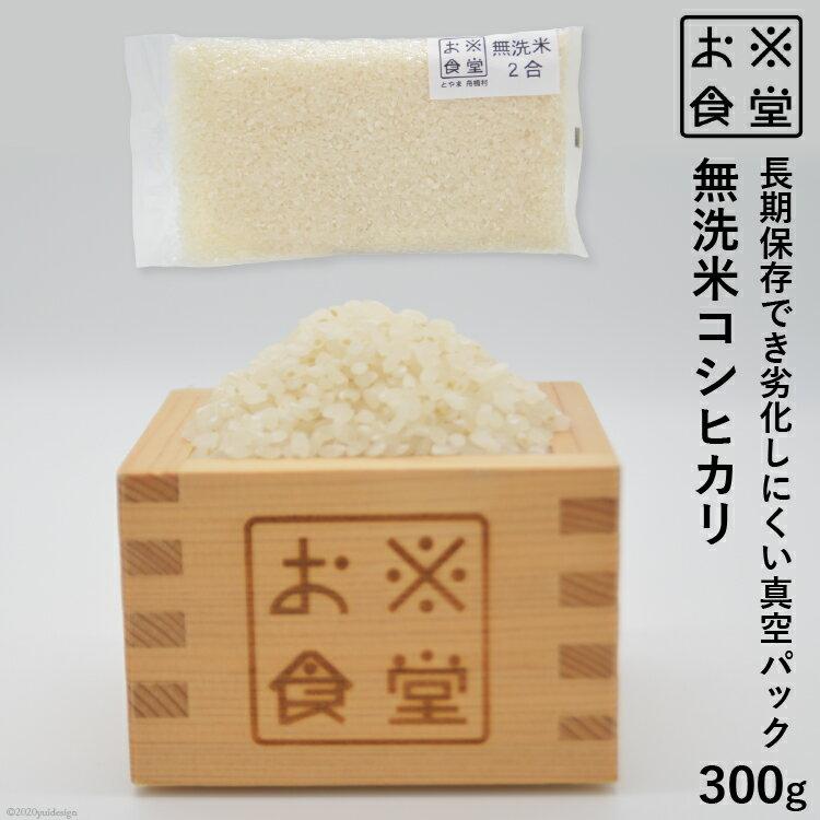 【ふるさと納税】真空パックした無洗米300g