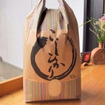 「ふるさとの味」平成29年産七尾産コシヒカリ 精米10kg ※ポストカード3枚付き
