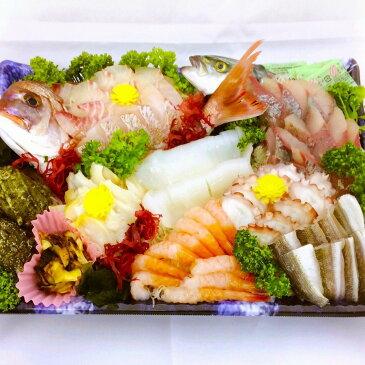 【ふるさと納税】能登七尾のお刺身盛り合わせ 着日指定 魚 鮮魚