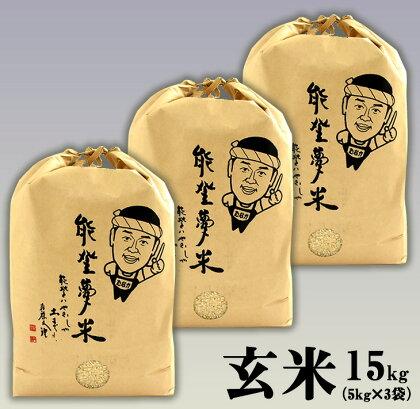 平成29年度産 能登産コシヒカリ 能登夢米(玄米15kg)