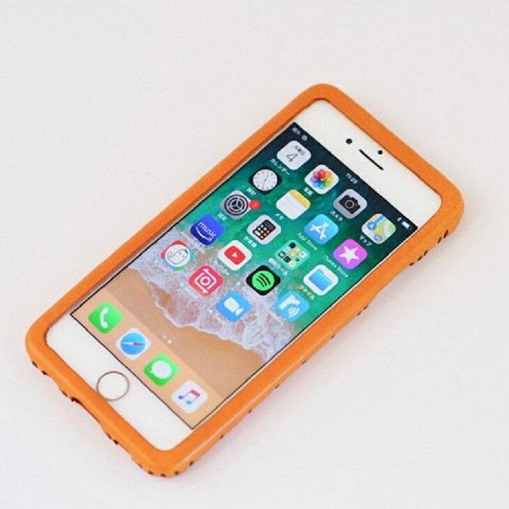 iPhoneケース 本革 ハンドメイド SE(第二世代)