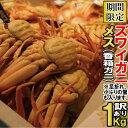 【ふるさと納税】030072. 【訳あり】石川産 香箱ガニ1...