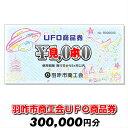 【ふるさと納税】[G044] 羽咋市商工会UFO商品券(30...