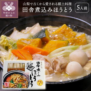 【ふるさと納税】ほうとう 山梨 生ほうとう 郷土料理 生麺 800g 非常食 常備食 k001-001