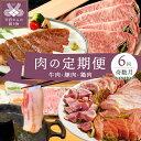 【ふるさと納税】肉 豚肉 牛肉 鶏肉 定期便 セット 甲州牛...