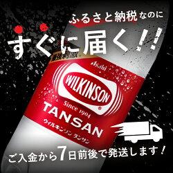 【ふるさと納税】 ウィルキンソン タンサン PET500ml×2箱 (48本入り) 炭酸水 強炭酸 炭酸飲料 炭酸 ペットボトル アサヒ飲料 画像1