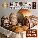 【ふるさと納税】【着日指定可】自家製酵母のパンセット【2】(