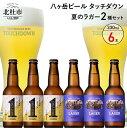 【ふるさと納税】 ビール 酒 清里 ロック 「八ヶ岳ビール タッチダウン」 「ファーストダウン」 「清里ラガー」 330ml 2種×6本セット ビール醸造所直送 父の日 送料無料