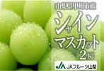 C-406.特選高級シャインマスカット朝採れ直送2kgUP(3〜4房)(KKH)