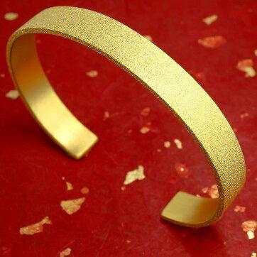 【ふるさと納税】造幣局検定刻印付 24金 バングル ブレスレット 純金 【アクセサリー・ブレスレット・ゴールド】