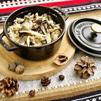 原木マイタケで炊き込みご飯(調理例)