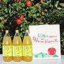 【ふるさと納税】長野市産信州完熟ふじ100%りんごジュース1