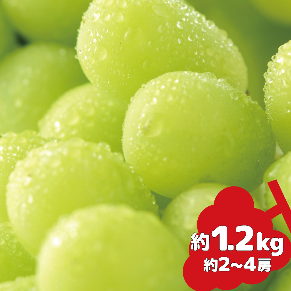 【楽天市場】信州グルメ市場 約1.2kg(約1~4房)の通販