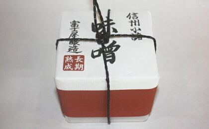 信州みそ甘口1kg ポリ樽詰 【調味料・油/味噌】