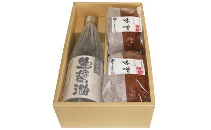 信州みそ特製甘口と生(き)醤油詰合せ 【調味料・油/味噌】