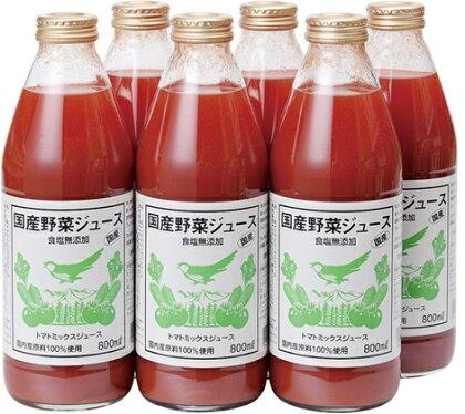 ツルヤ 国産野菜ジュース(食塩無添加) 【果実飲料】