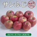 【ふるさと納税】<先行予約> りんご 訳あり サンふじ 家庭用 10kg