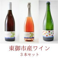 東御市産ワイン3本セット