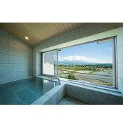 信州八重原温泉アートヴィレッジ明神館展望風呂付和洋室1名様宿泊券