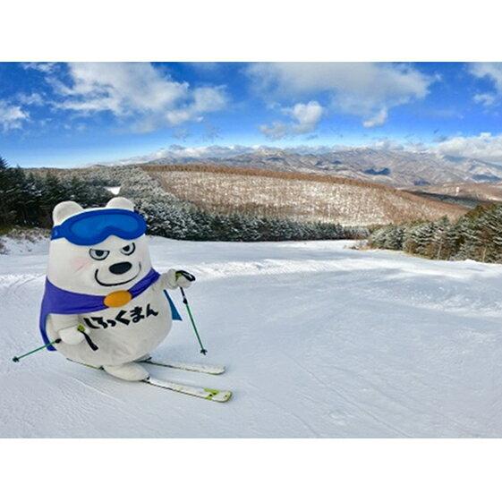 【ふるさと納税】湯の丸スキー場 スキーリフト1日券(こども用)