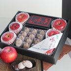 【ふるさと納税】信州の特産品りんごと市田柿の詰め合わせ「夢合わせ」  ※着日指定はできません。沖縄・離島への発送不可。