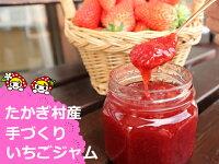 【ふるさと納税】2-L01喬木村産手摘みいちごジャム