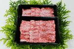 【ふるさと納税】麻績産極上黒毛和牛バラ焼肉用350g×2パック