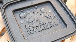 【ふるさと納税】雨飾高原キャンプ場オリジナルホットサンドクッカー 画像2