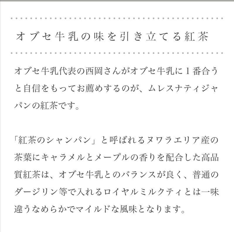 【ふるさと納税】 オブセ牛乳 ロイヤルミルクティセット